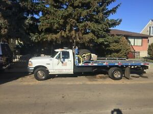 1995 Ford Superduty F450 tow truck