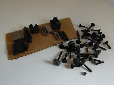 Large Lot Of Assorted Hold Down Clamps