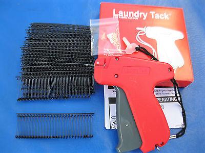 Fine Tagging Gun 1000 1 Black Fine Plastic Barbs