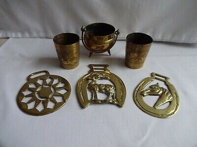 Vintage Horse brasses and Other items