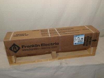 Franklin Electric 2366529020 Deep Well 6 Submersible Pump Motor 200v 10hp -new