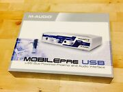 M-Audio Mobile Pre USB [Preamp Audio Interface] - As New (RRP $379.95) Ascot Vale Moonee Valley Preview