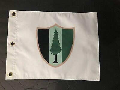 Pine Valley Golf Club Souvenir Flag Augusta National Tiger Woods Jack Nicklaus