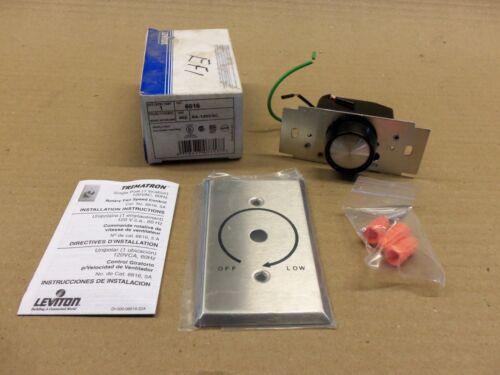New in Box Leviton 6616 Fan Speed Control