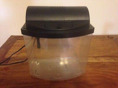 Aqueon Mini Bow 2.5 Gallon Desktop Aquarium Kit - Used