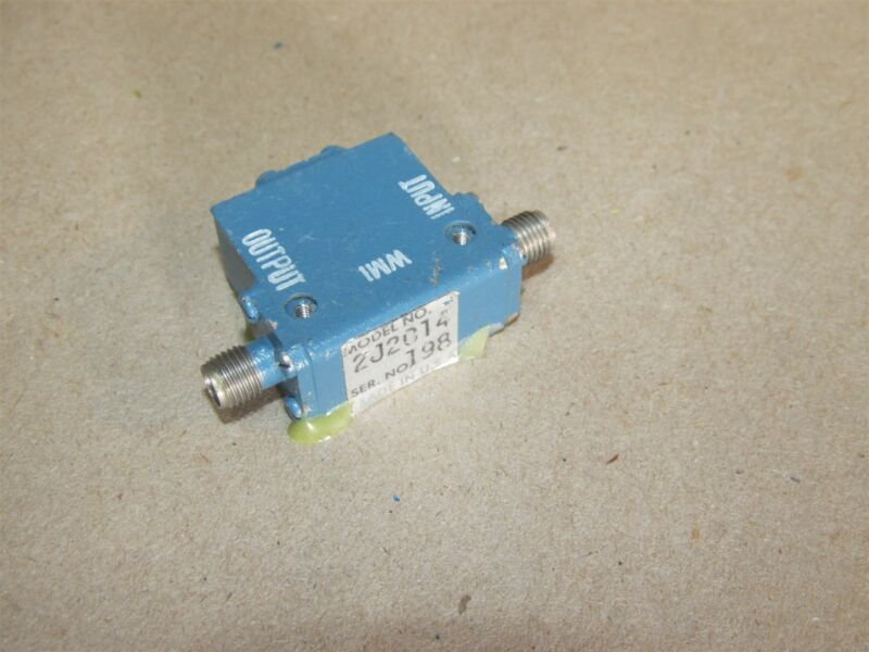 Microwave RF Isolator WMI 2J2014