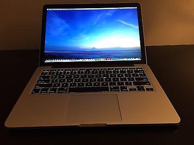 2015 Macbook Pro 13 Retina i7 3.1GHz 16GB 256GB ZERO cycles applecare wty