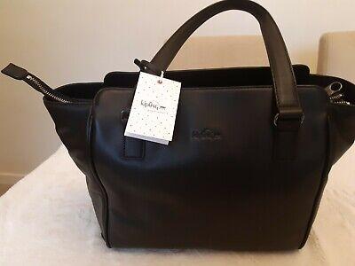 Bnwt Kipling LEATHER Bag - Juliene - RRP £229