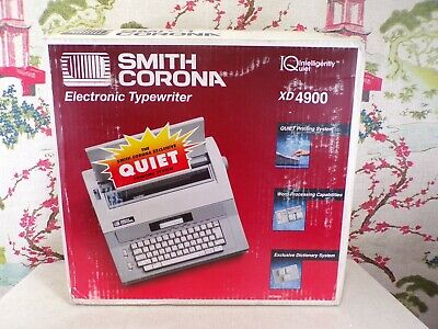 Smith Corona Xd4900 Word Processing Typewriter Spell Right Dictionary Electronic