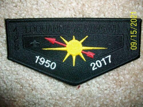 """Loquanne Allangwh """"DEATH FLAP"""" 1950-2017 Mint"""