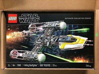 LEGO Star Wars Y-Wing Starfighter 75181 Building Kit (1967 Pieces)