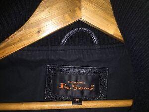Designer leather jacket - Ben Sherman Arncliffe Rockdale Area Preview