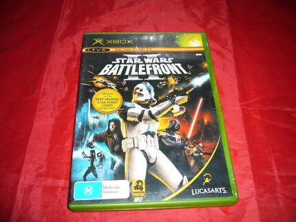 Xbox Original STAR WARS Battlefront II 2 Xbox Aus PAL Complete Fr Coolaroo Hume Area Preview