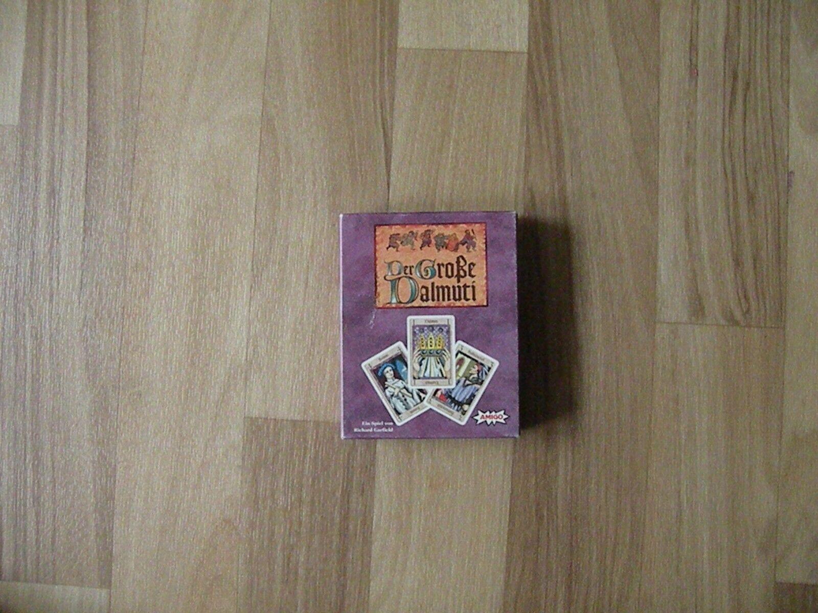 Der große Dalmuti - Kartenspiel von Amigo - für 4 - 8 Personen ab 8 Jahren - TOP