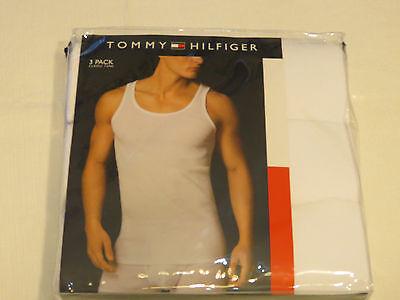 Herren Tommy Hilfiger 3er-pack Klassisch Tank Top Baumwolle L 42-44 unter Hemden ()