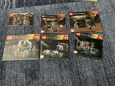 lego lord of the rings lot