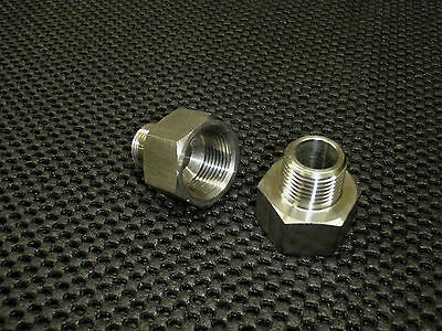 Stainless Steel Adapter Reducer 12 Female X 14 Male Npt Pipe Ar-050f-025m