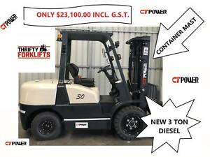 FD30 3 TON 3000 KG CAPACITY DIESEL CONTAINER MAST FORKLIFT Strathfield Strathfield Area Preview