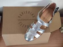VANISHING ELEPHANT SANDALS - silver - size 37 Newcastle 2300 Newcastle Area Preview