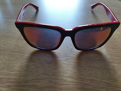 Puma Fenty Sunglasses Red & Black Eggshell