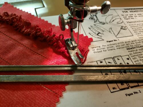 Imitation Hemstitching Tool ~ Singer Featherweight 221, 301A Tested ~ Universal!