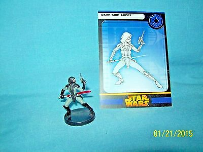 WotC Star Wars Miniatures Dark Side Adept, RotS 57/60, Imperial, Uncommon