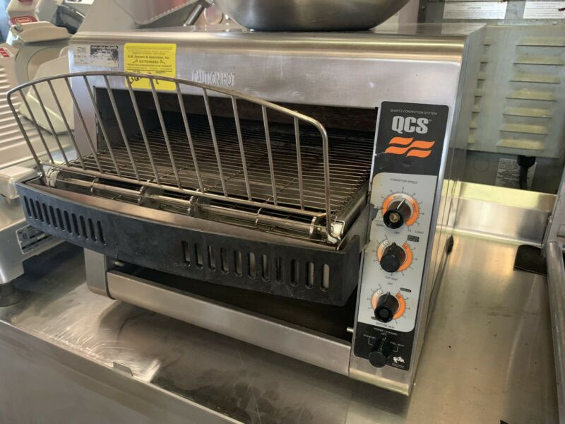 Star QCS3-950H Conveyor Bread Toaster with Reversible Chute