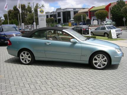 2003 Mercedes-Benz CLK500 Convertible Victoria Park Victoria Park Area Preview