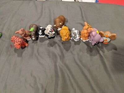Fisher Price Little People Lot of 11 Animal Figures