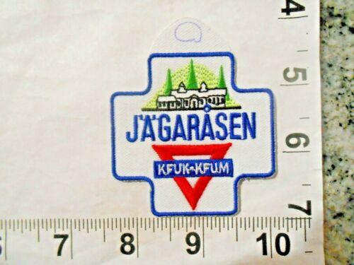 """Swedish YMCA """"Jagarasen""""  Patch    iron on and free shipping"""