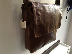 Rudsak leather messenger bag
