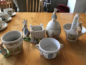 Limited Edition Beatrix Potter containers