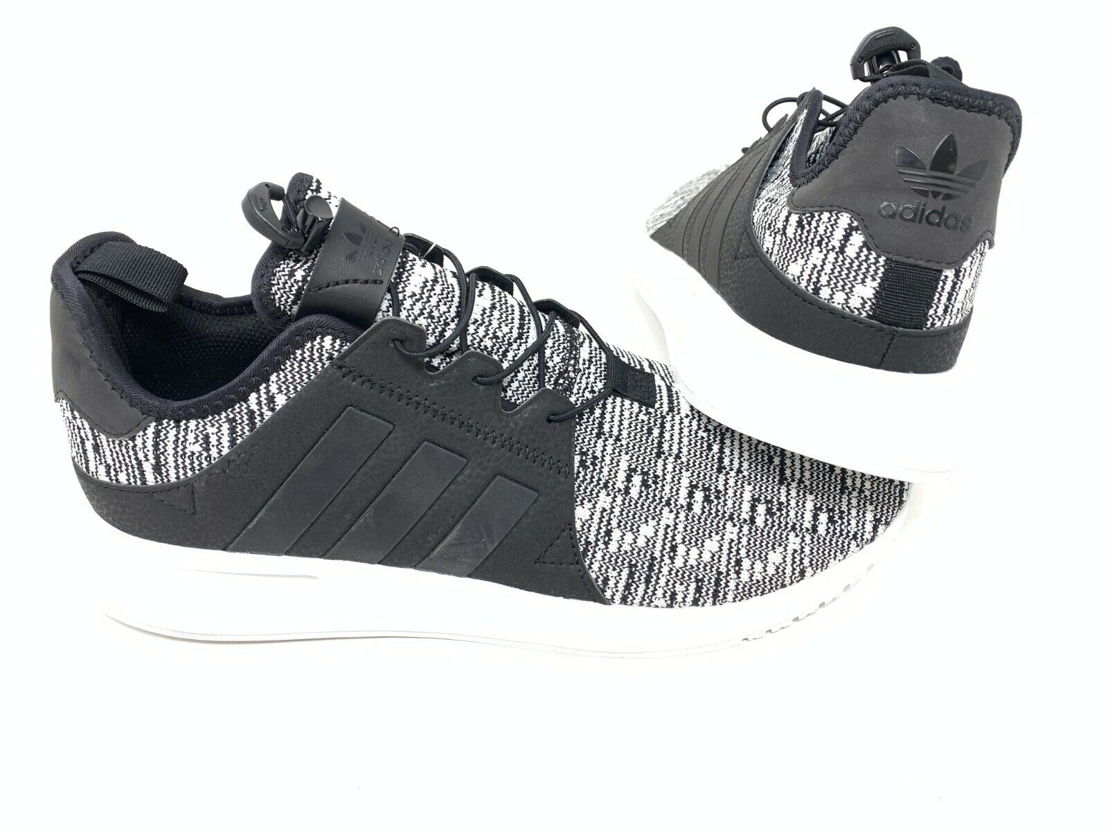 NEW! Adidas Men's X_PLR Originals Running Shoes Blk/White Si