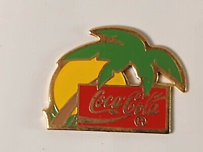 Coca-Cola Coke Palm Tree Lapel Pin