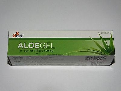 Aloe Vera Healing Gel Relief Of Burns,Scars,Acne,Sunburn, Moisturizing 30g Tube Aloe Sunburn Relief Moisture Gel