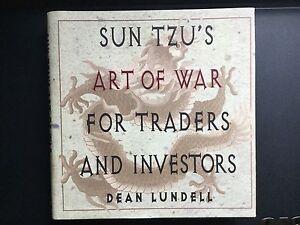 Sun Tzu's Art of war for traders and investors. hardcover book.
