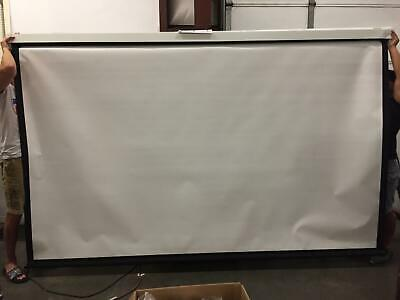 Da-lite Model C Front Projection Screen 10x10 170 Diagonal White Read 79870