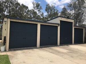 Storage, shed, for car, boat, caravan