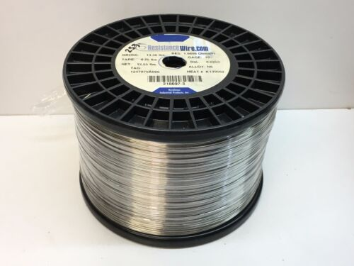 (50ft) Nichrome Resistance Wire 22-Guage N6 Alloy 1.0406Ohms/ft