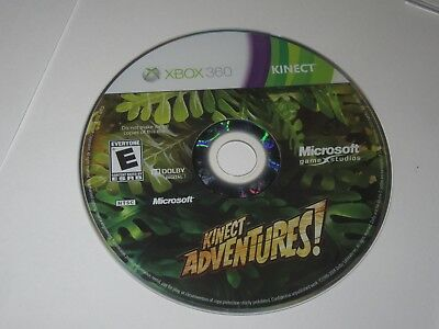 Kinect Adventures (Xbox 360, 2010) Disc Only, used for sale  Shipping to India