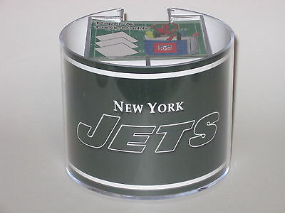 (New York Jets Team Logo Desk Caddy with 750 Sheet Note Pad)