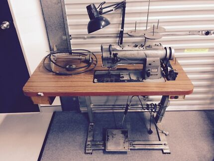 SINGER 212 TWIN NEEDLE INDUSTRIAL SEWING MACHINE Clontarf Redcliffe Area Preview