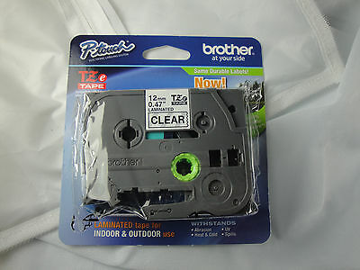 1 Brother P-touch Tze-131 Black On Clear Label Tape Tz131 Best Price Genuine Oem