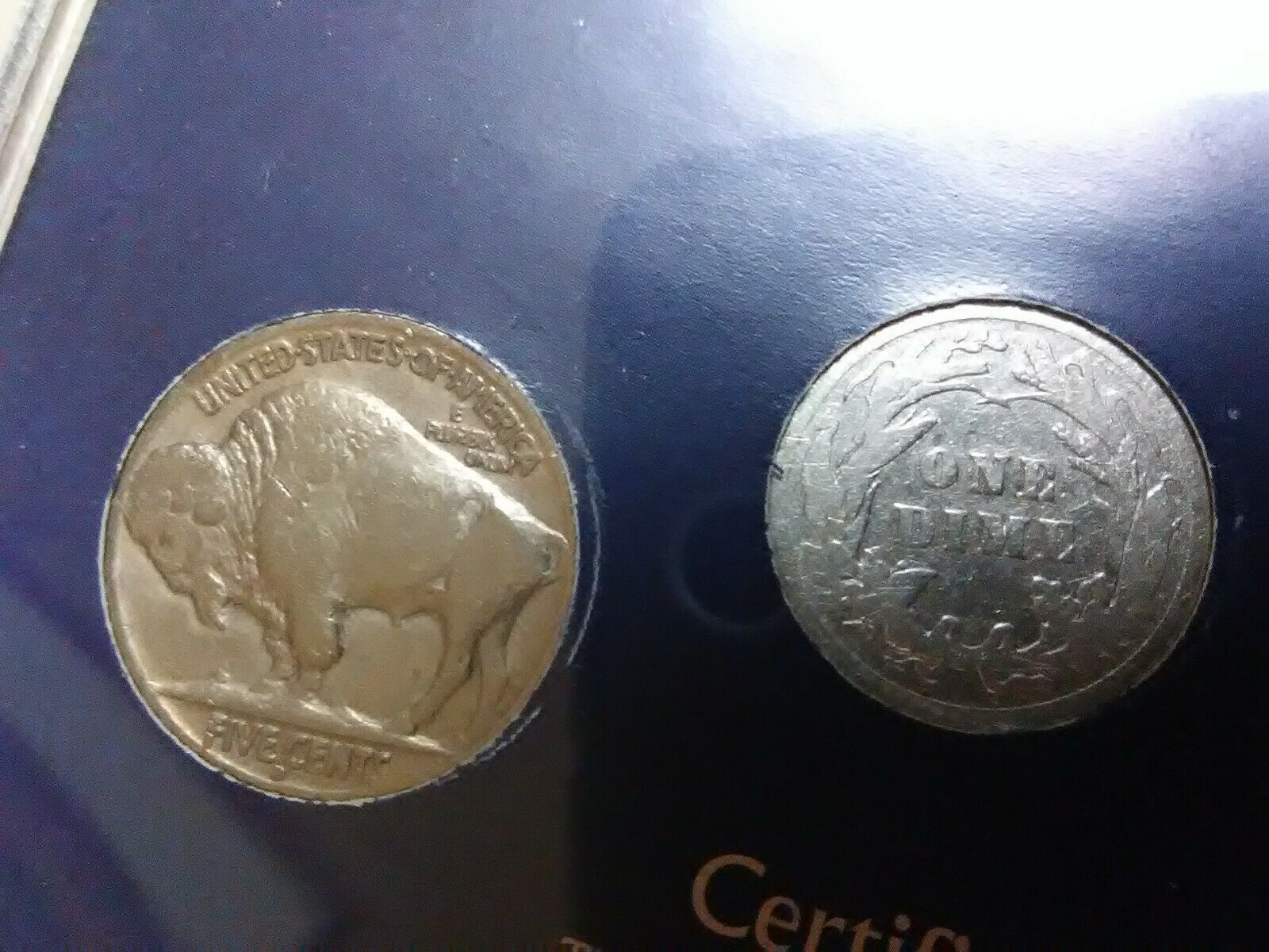 Double Dated Coin Collection Sealed Buffalo Nickel Barber Mercury Dime  - $43.00