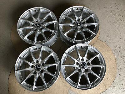 4 Orig.Mercedes Alufelgen E-Klasse W212 16Zoll 7,5Jx16 ET45,5 A2124014002 Nr.P