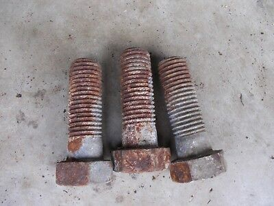 3 1 X 3 Plow Implement Tractor Bolt Bolts Ih Old Dealer Stock 1x3