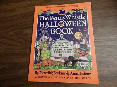 The Penny Whistle Halloween Book by Annie Gilbar and Meredith Brokaw (1991)](Halloween Meredith)