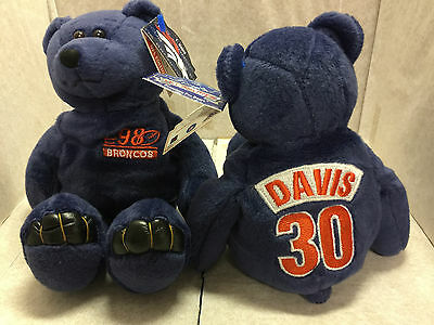 Terrell Davis Limited Treasures NFL Premium Pro Bear