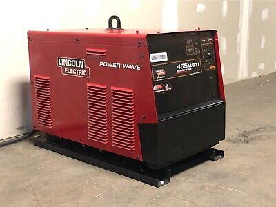 2012 Lincoln Power Wave 455mstt Welder Technician Certifiedfree Shipping