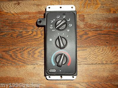 98 01 Dodge Ram Truck Electronic Heater Climate Control  Heated Mirrors 99 00